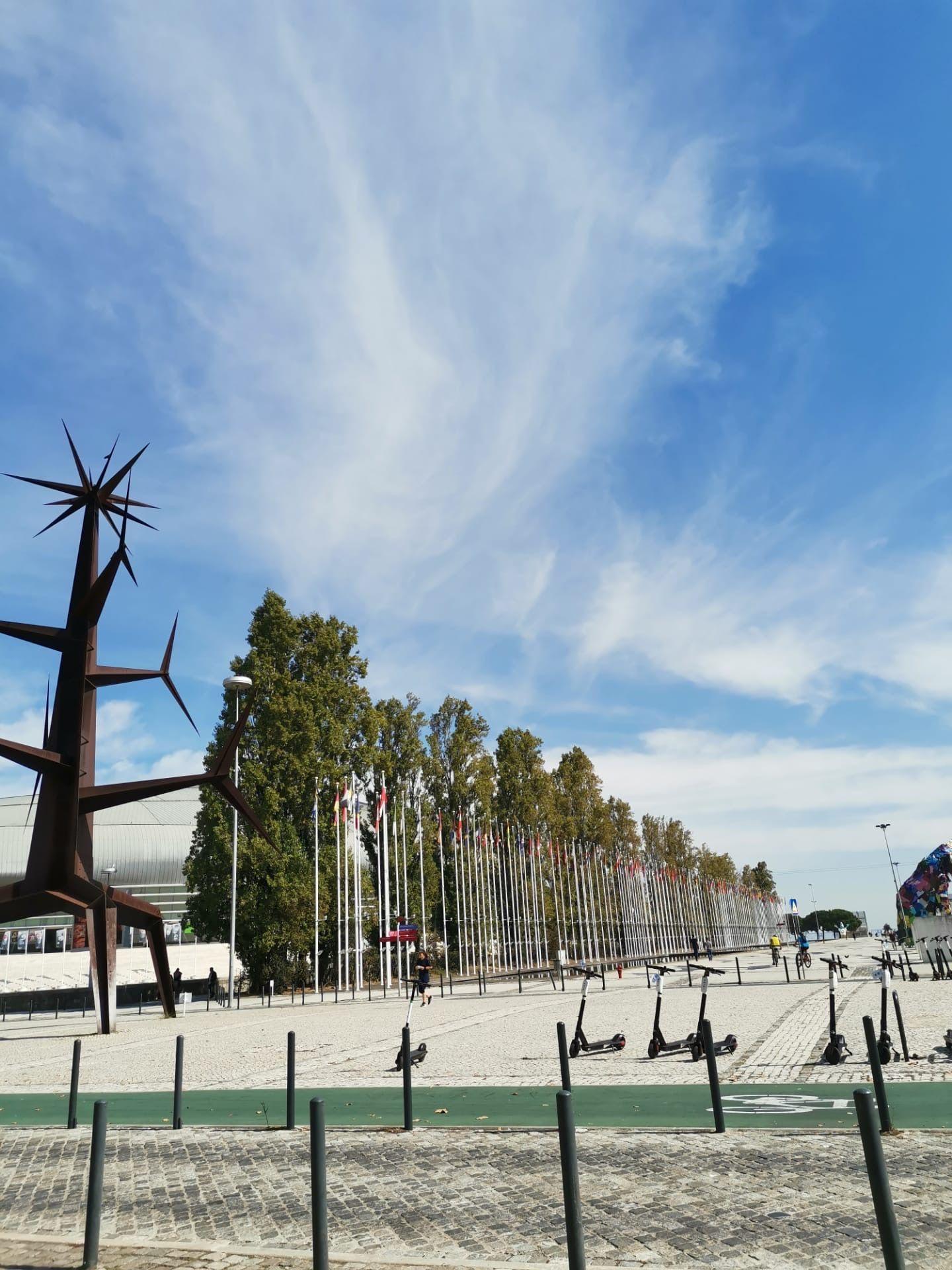 Art - Park of Nations in Lisbon Portugal